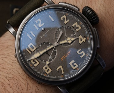 Zenith Heritage Pilot Ton-Up Watch Hands-On